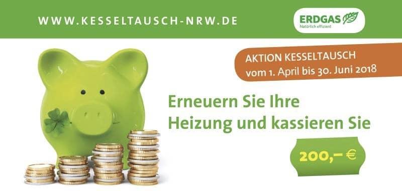 Gewinnspielteaser mit grünem Sparschwein