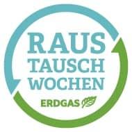 """Logo """"Raustauschwochen Erdgas"""""""