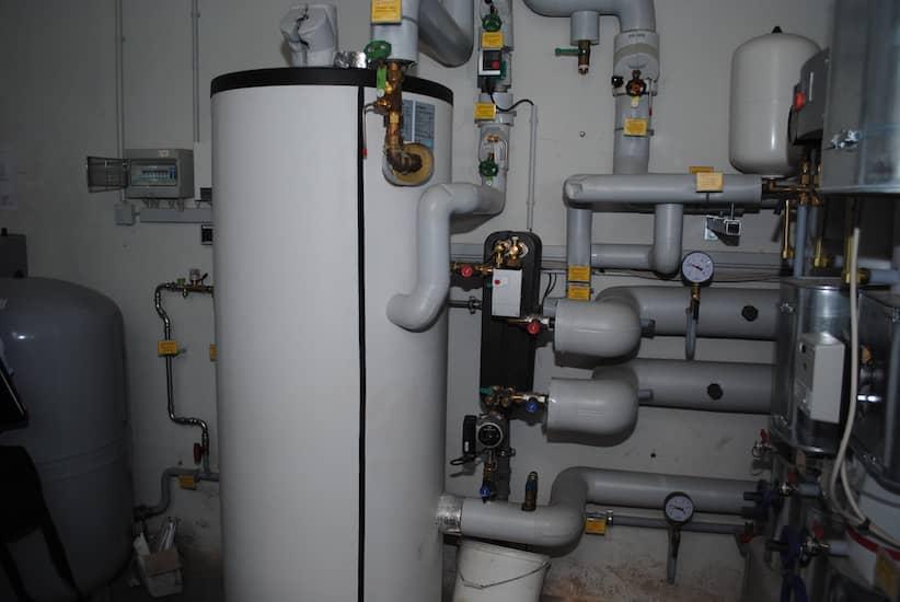 BRÖTJE Kessel SGB 215h installiert in Keller
