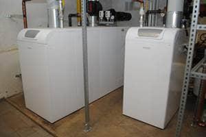 2 Brötje Gas-Brennwertkessel installiert