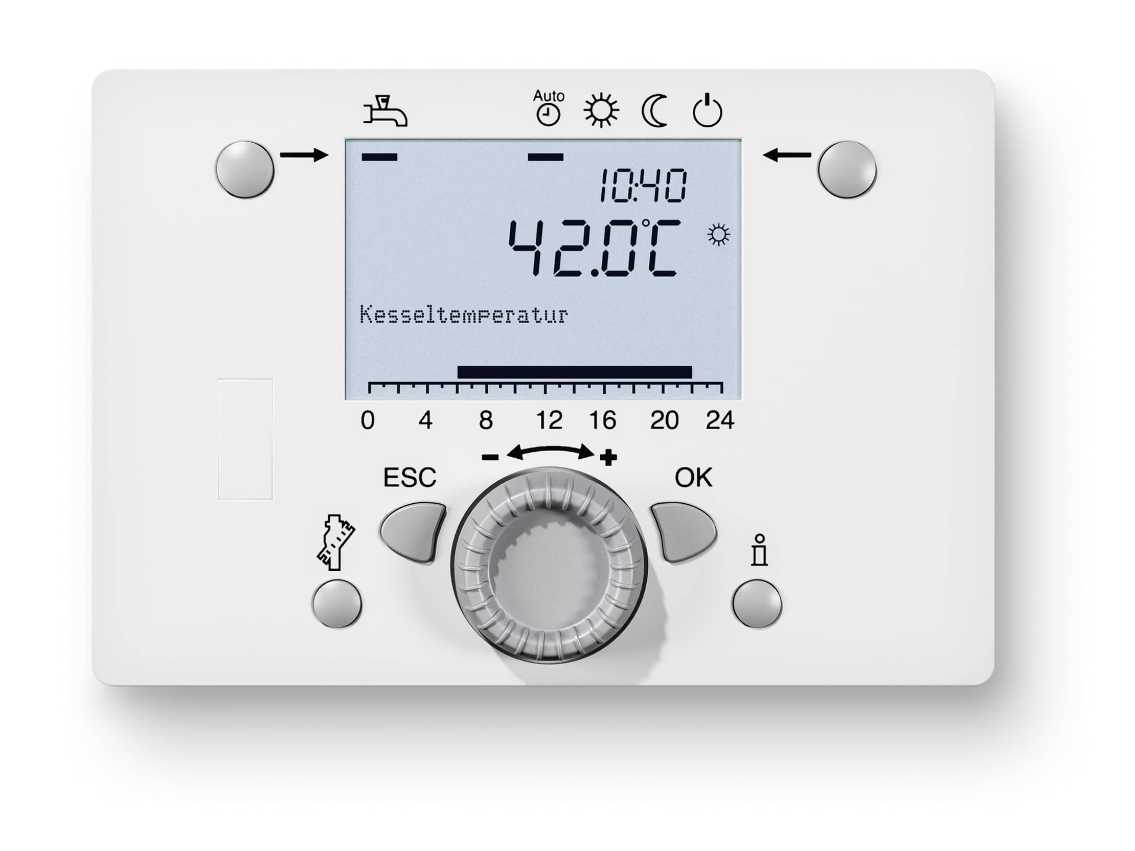 Product image ISR Plus control in white.