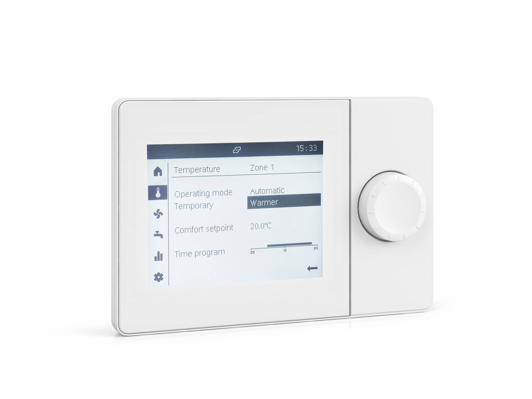 Product image of the control ISR RGP in white.