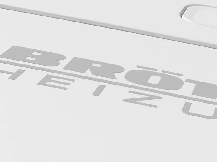 Brötje Logo auf Heizanlage